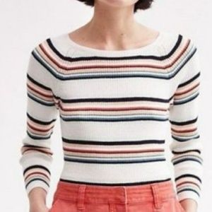 Anthropologie Moth boat neck Piper sweater